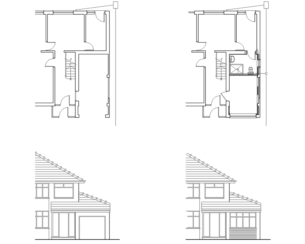 Discount Garage Conversion Plans - Extension Plan Shop